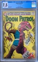 Doom Patrol #89 CGC 7.5 ow