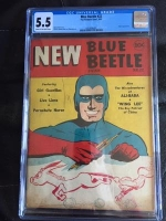Blue Beetle #22 CGC 5.5 cr/ow