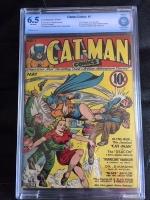 Catman Comics #1 CBCS 6.5 ow