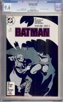Batman #407 CGC 9.6 w