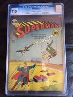 Superman #10 CGC 7.0 ow/w