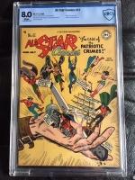 All Star Comics #41 CBCS 8.0 w