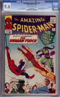 Amazing Spider-Man #17 CGC 9.6 ow/w Pacific Coast