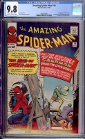 Amazing Spider-Man #18 CGC 9.8 ow/w