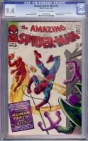 Amazing Spider-Man #21 CGC 9.4 ow/w