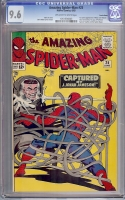 Amazing Spider-Man #25 CGC 9.6 ow/w Suscha News