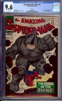 Amazing Spider-Man #41 CGC 9.6 w