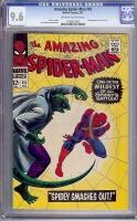Amazing Spider-Man #45 CGC 9.6 ow/w