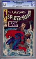 Amazing Spider-Man #52 CGC 9.8 ow/w