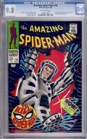 Amazing Spider-Man #58 CGC 9.8 ow