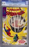 Amazing Spider-Man #61 CGC 9.8 ow/w