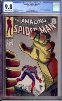 Amazing Spider-Man #67 CGC 9.8 ow/w