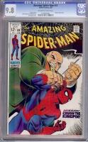 Amazing Spider-Man #69 CGC 9.8 ow/w