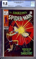 Amazing Spider-Man #72 CGC 9.8 ow/w