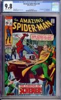 Amazing Spider-Man #83 CGC 9.8 ow/w