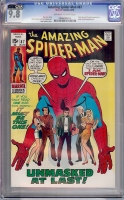 Amazing Spider-Man #87 CGC 9.8 ow/w