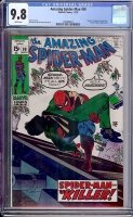 Amazing Spider-Man #90 CGC 9.8 w