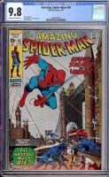 Amazing Spider-Man #95 CGC 9.8 ow/w