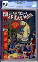 Amazing Spider-Man #96 CGC 9.8 w