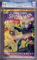 Amazing Spider-Man #102 CGC 9.8 ow/w