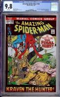 Amazing Spider-Man #104 CGC 9.8 w