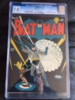 Batman #13 CGC 7.0 ow/w