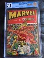 Marvel Mystery Comics #66 CGC 7.5 cr/ow