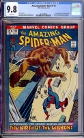 Amazing Spider-Man #110 CGC 9.8 w