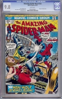 Amazing Spider-Man #125 CGC 9.8 w