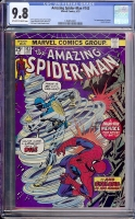 Amazing Spider-Man #143 CGC 9.8 ow/w