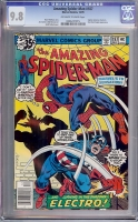 Amazing Spider-Man #187 CGC 9.8 ow/w