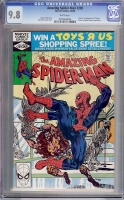 Amazing Spider-Man #209 CGC 9.8 w