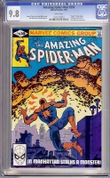 Amazing Spider-Man #218 CGC 9.8 w