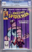 Amazing Spider-Man #219 CGC 9.8 ow/w