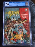 All Star Comics #38 CGC 7.0 ow/w