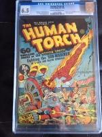 Human Torch #5 CGC 6.5 cr/ow
