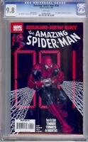 Amazing Spider-Man #548 CGC 9.8 w