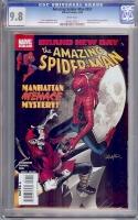 Amazing Spider-Man #551 CGC 9.8 w