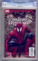 Amazing Spider-Man #553 CGC 9.8 w