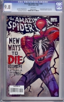 Amazing Spider-Man #568 CGC 9.8 w