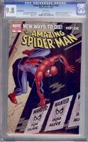 Amazing Spider-Man #568 CGC 9.8 w Variant Edition