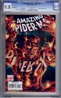 Amazing Spider-Man #581 CGC 9.8 w Variant Edition