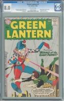 Green Lantern #1 CGC 8.0 ow