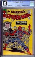 Amazing Spider-Man #25 CGC 9.4 ow/w