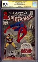 Amazing Spider-Man #46 CGC 9.4 ow/w CGC Signature SERIES