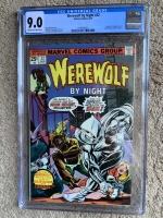 Werewolf By Night #32 CGC 9.0 ow/w