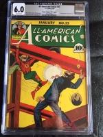 """All-American Comics #22 CGC 6.0 ow Davis Crippen (""""D"""" Copy)"""