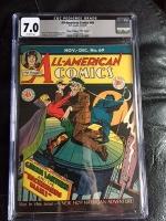 """All-American Comics #69 CGC 7.0 ow Davis Crippen (""""D"""" Copy)"""