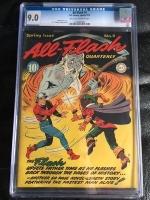 All-Flash #4 CGC 9.0 ow/w