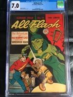 All-Flash #19 CGC 7.0 ow/w
